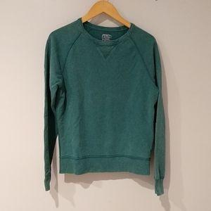 J.Crew Vintage Cotton Teal Sweatshirt Small